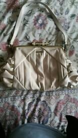 Ladies Fiorelli cream handbag