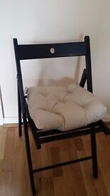 Ikea TERJE Black folding chair
