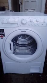 Brand new hotpoint 8kg heat pump condenser dryer
