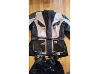 Hunter class motorbike jacket and pants