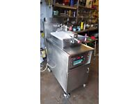 COMMERCIAL CATERING FAST FOOT TAKEAWAY HENNY PENNY PRESSURE FRYER FASTRON SILVER EDITION