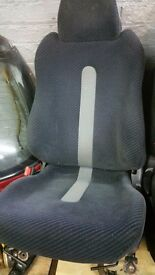Honda CRX Del Sol Seats on Civic EK Rails