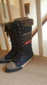 Size 3 girl warm boots from Next