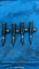 Audi/seat bkd 140 injectors x4