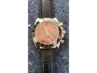 Rolex DAYTONA 116505 Mens Everose Gold Pink Champagne Dial Black Subdials 40MM watch
