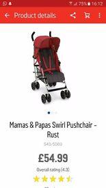 Pram mamas and papas swirl
