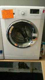 BEKO 8KG LOAD 1400 SPIN WASHING MACHINE IN WHITE