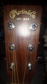 Martin DC-1E USA made acoustic/electric guitar