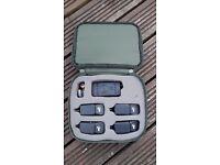 Nash S5R bite alarms x4 +reciever