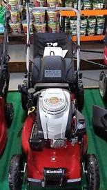 Einhell top of the range key start lawn mower - bargain price