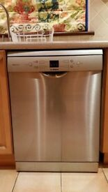 Bosch Silver dishwasher