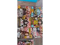 Various 'Kerrang' magazines from early 2017