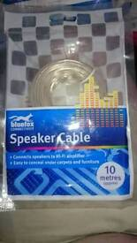 £1, speaker cable T&C apply *
