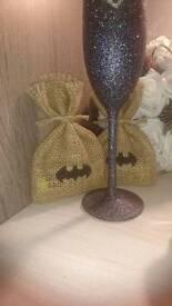 18 Batman canvas party bags