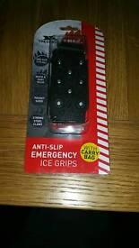 ANTI SLIP ICE GRIPS.