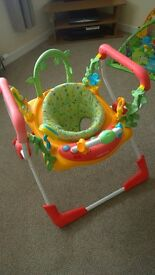 Mothercare Woodland Bounce Around jumperoo/activity gym!