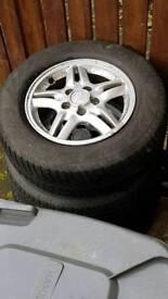 5 stud Honda alloys