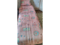 bed settee, single, excellent condition