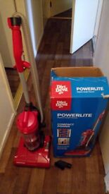 Dirt Devil Powerlite Bagless Upright Vacuum Cleaner Model No: DDU01E01 with car vacuum brush