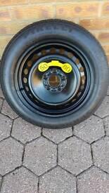 Pirelli temporary spare wheel
