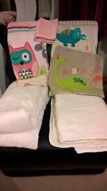 2 Toddler Bedding sets and 2 Duvets