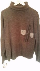 Jumper DANIELE ALESSANDRINI paied 160£ i sell only 19£!!! size XL