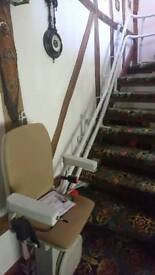 Platinum curver stair lift