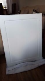 5 matt kitchen door white