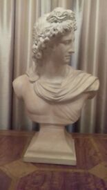 Rare Austin Sculpture Bust of Apollo, Greek God, Collectable