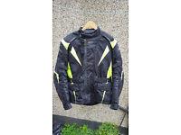 Motorcycle Jacke RST Pro Series green Textile Waterproof Motorcycle Jacket XL