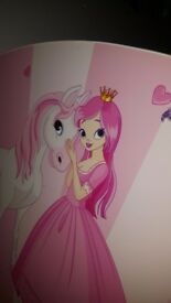 Girls little Pony and Princess