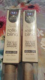 Brand new in box 2ft roller blind