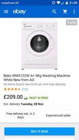 Beko wash machine