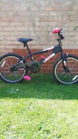 Girls BMX type bike.