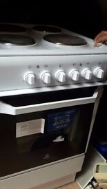 lightly used white electric cooker