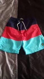 Scott and lyle swim shorts