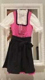 Dirndl Traditional bavarian austrian dress for Octoberfest