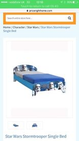 Star Wars and peppa beds for sale