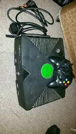Xbox original and games bundle