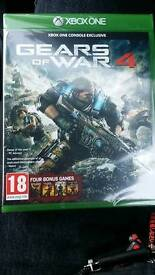 GEAR OF WAR 4 (NEW AND SEALED)