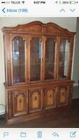 Hutch/China cabinet for sale.