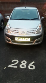 59 reg Nissan Pixo in excellent condition for sale
