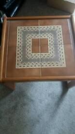 Tiled Side table