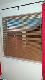 wood effect Venetian blinds