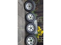 235 / 75 / 15 wheels and tyres