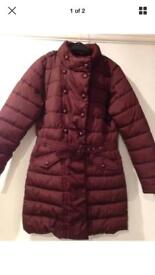 Girls clothing package party shoes, jacket, winter shorts and coat £40