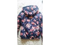 Flower jacket size small