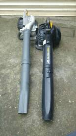 2 petrol leaf blowers spares or repair