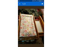 baby wooden changing mat