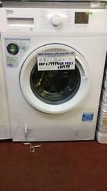Beko washing machine 6kg white graded
